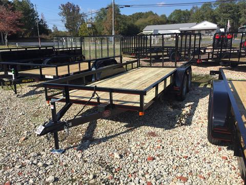 "2020 P & T Trailer Sales, Inc. 77""X16' UTILITY TRAILER in Rome, Georgia"
