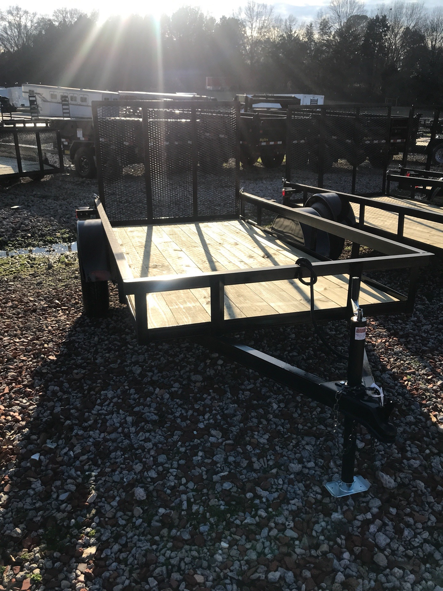 2019 P & T Trailer Sales, Inc. 5X10AFG in Rome, Georgia