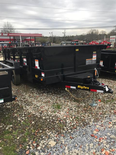 2019 Big Tex Trailers 14LX-16BK7SIRPD 83X16 DUMP in Rome, Georgia
