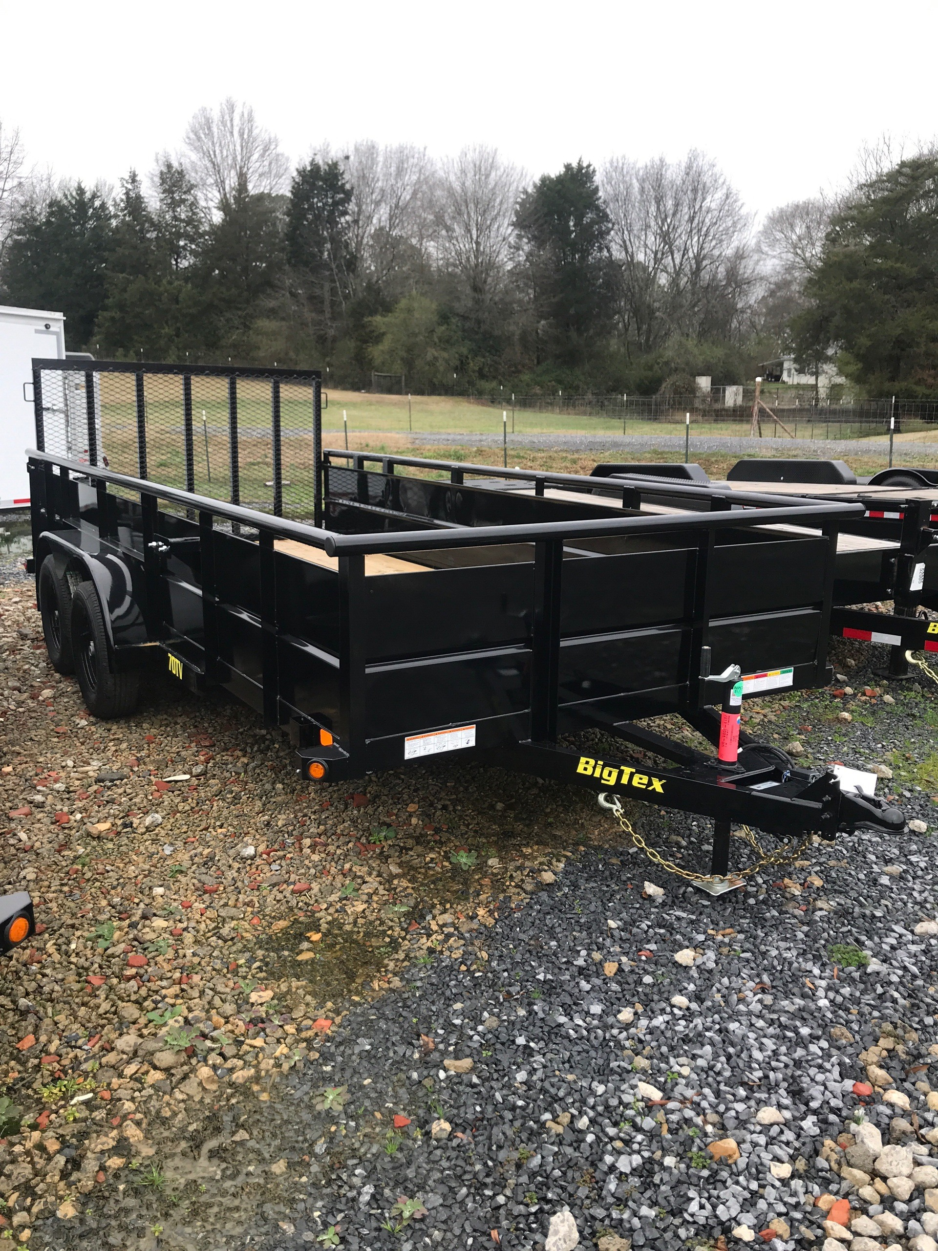 2019 Big Tex Trailers 70TV-16BK-GA 83X16 VANGUARD  in Rome, Georgia