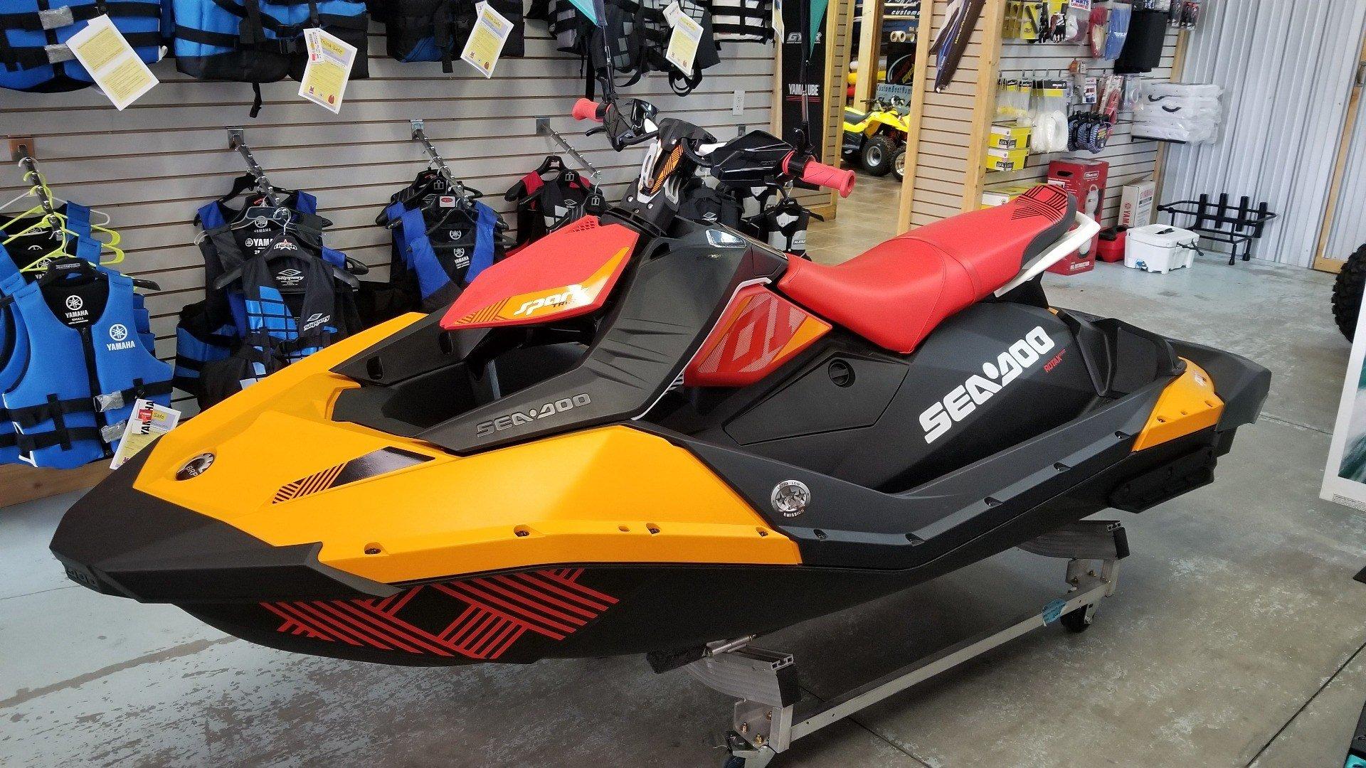 2018 Sea-Doo Spark 3up Trixx iBR for sale 92031