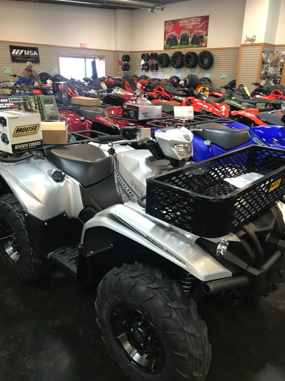 2018 Yamaha Kodiak 700 EPS SE in Panama City, Florida