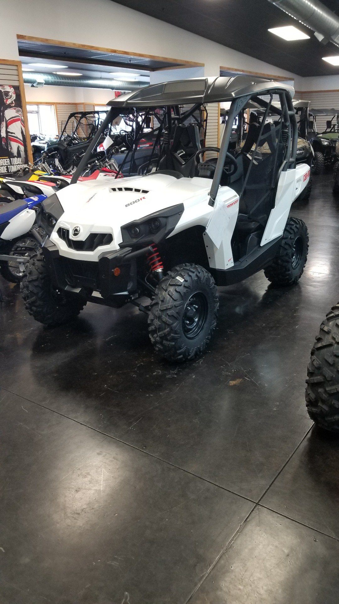 2018 Can-Am Commander 800R in Panama City, Florida