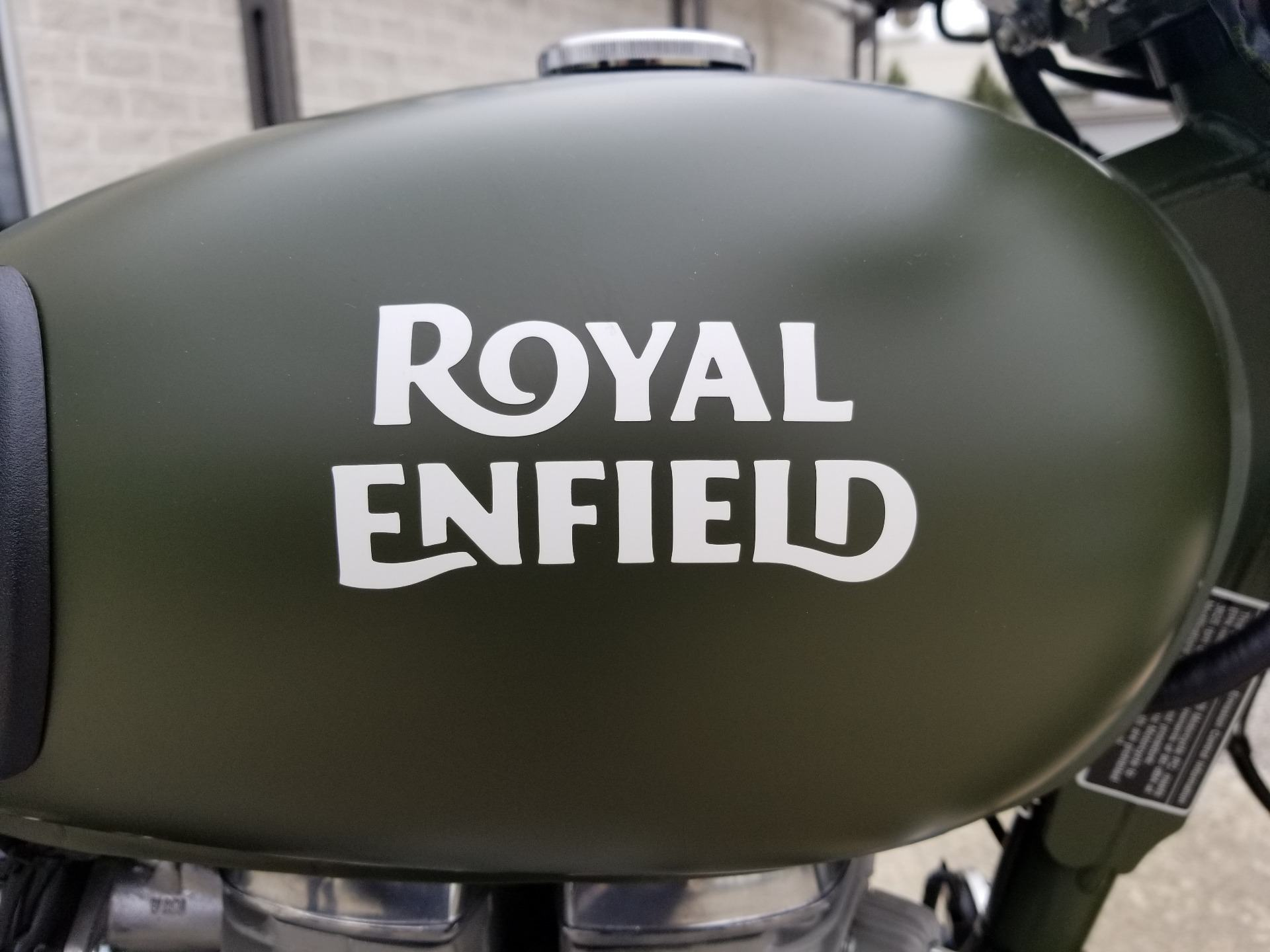 2019 Royal Enfield Classic 500 Battle Green in Aurora, Ohio - Photo 5