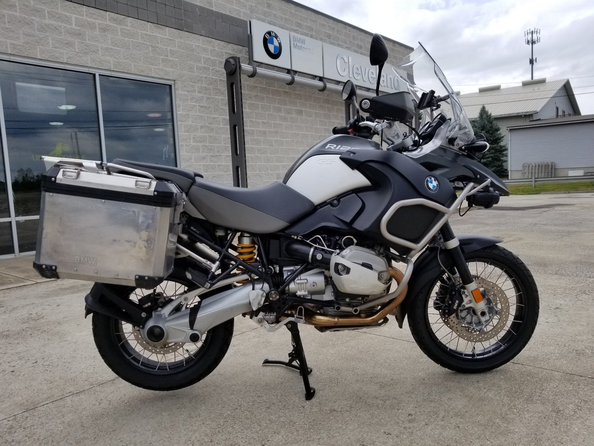 Used 2011 Bmw R 1200 Gs Adventure Motorcycles In Aurora Oh Stock