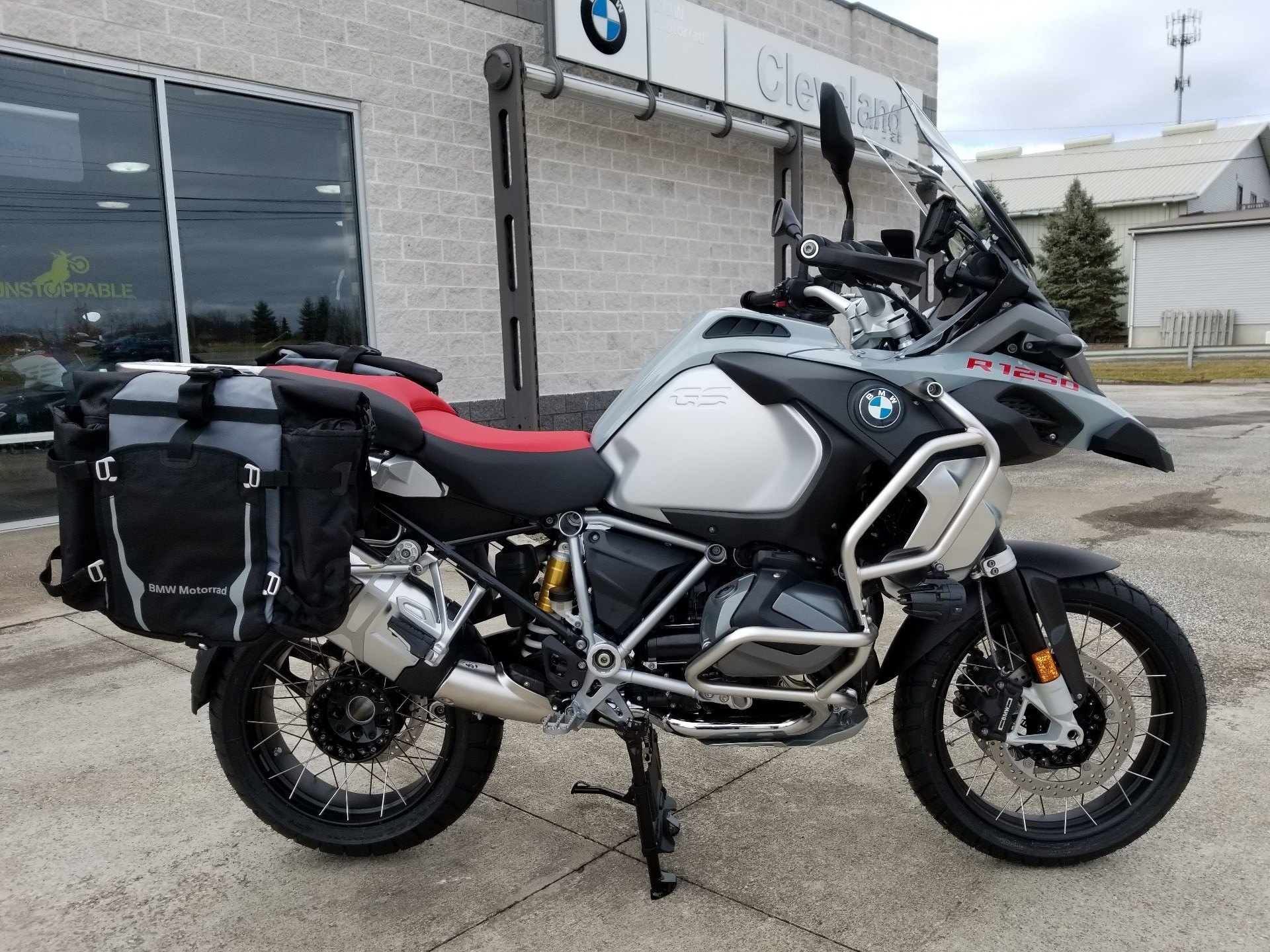 new 2019 bmw r1250gs adv motorcycles in aurora oh stock. Black Bedroom Furniture Sets. Home Design Ideas
