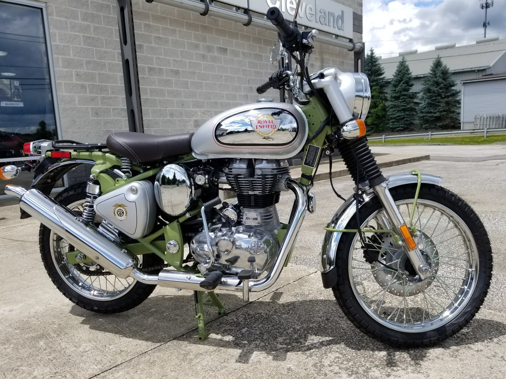 2020 Royal Enfield Bullet Trials Works Replica 500 Limited Edition in Aurora, Ohio - Photo 1