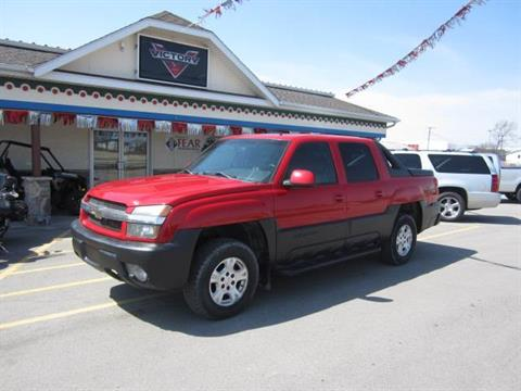 2002 Chevrolet AVALANCHE in Berne, Indiana