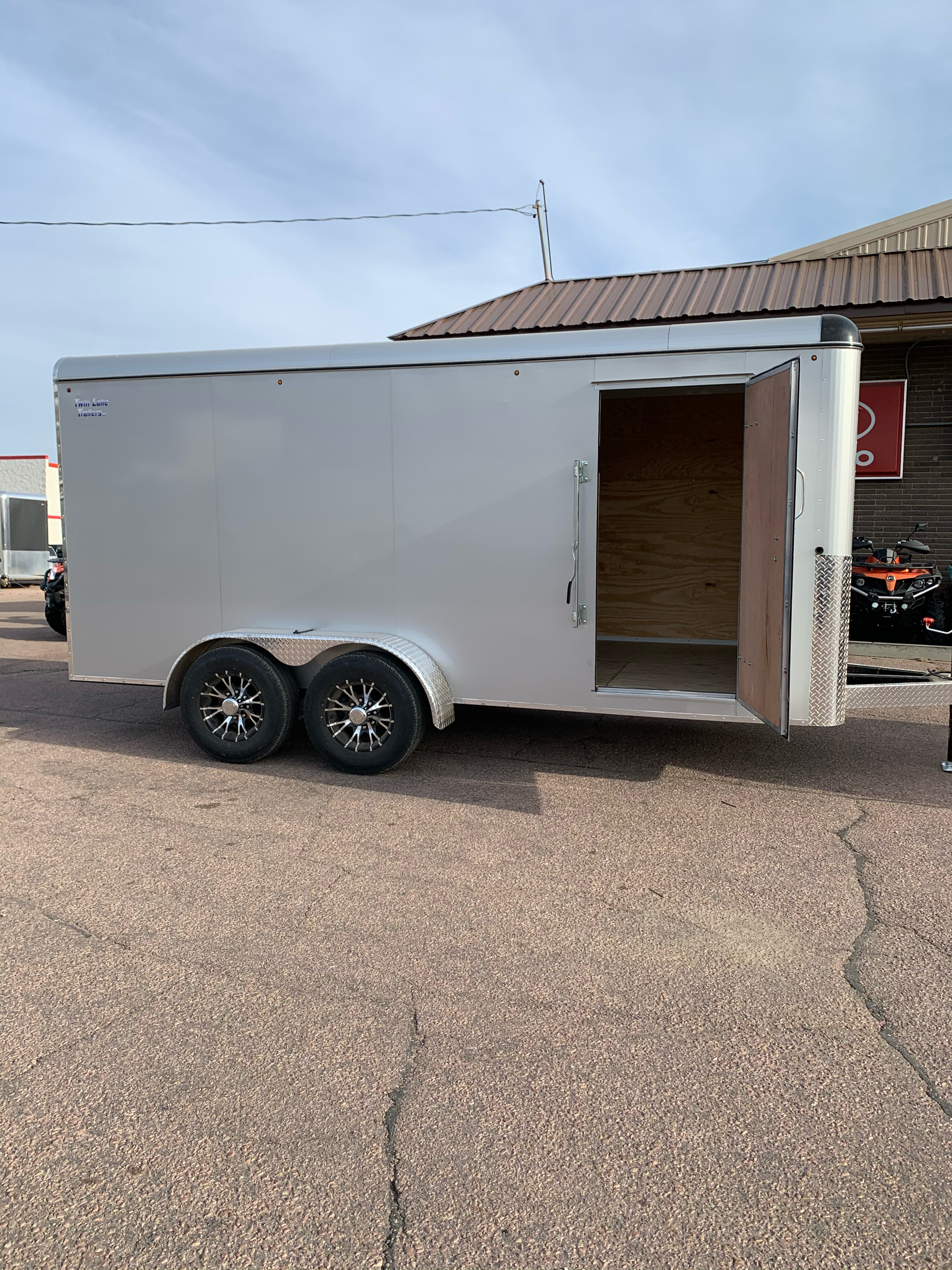 2021 Twin Lake Trailers LLC ENCLOSED 7X16 in Sioux Falls, South Dakota - Photo 4