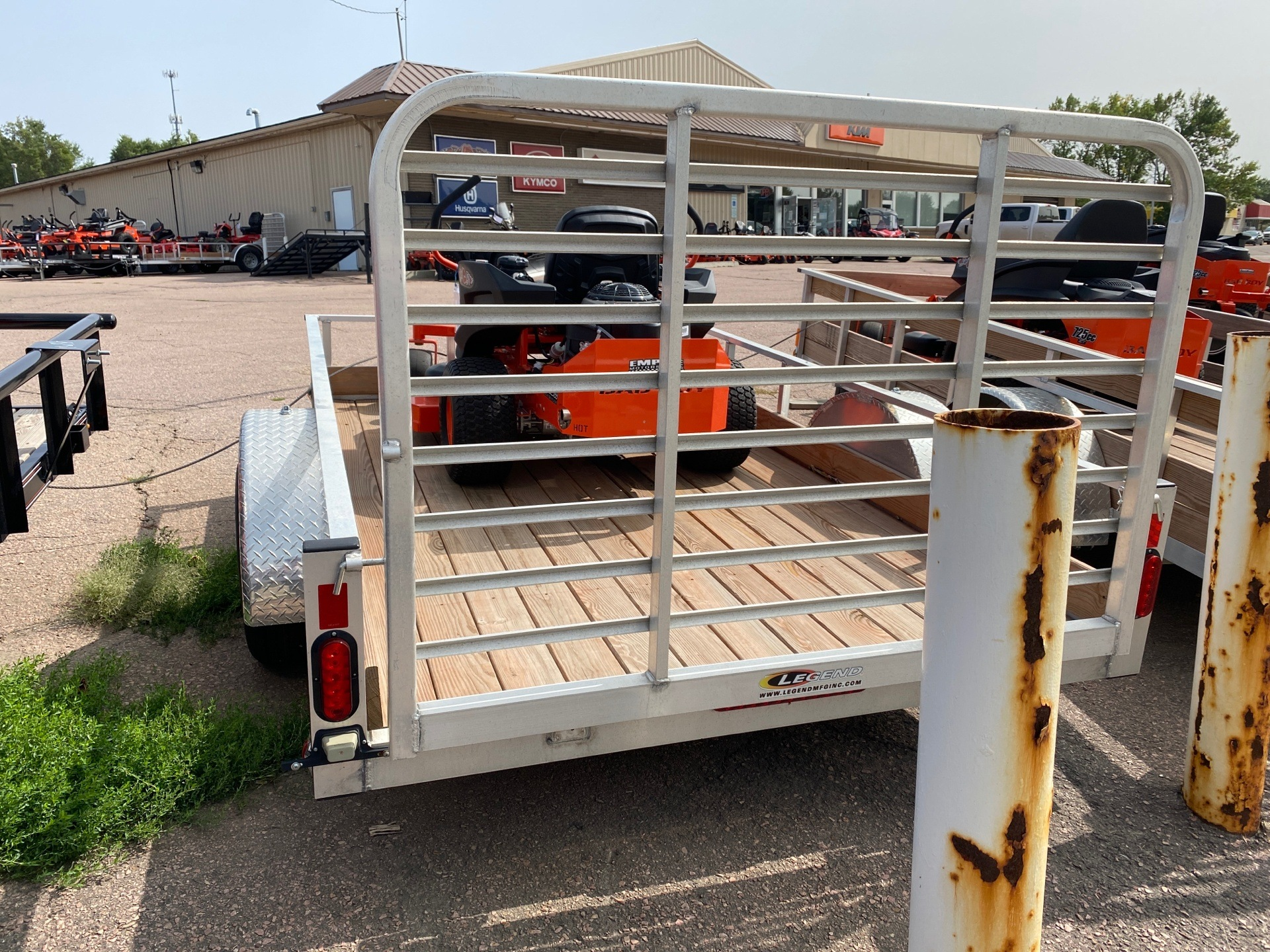 2020 Legend Trailers 6X10ALLS in Sioux Falls, South Dakota - Photo 3
