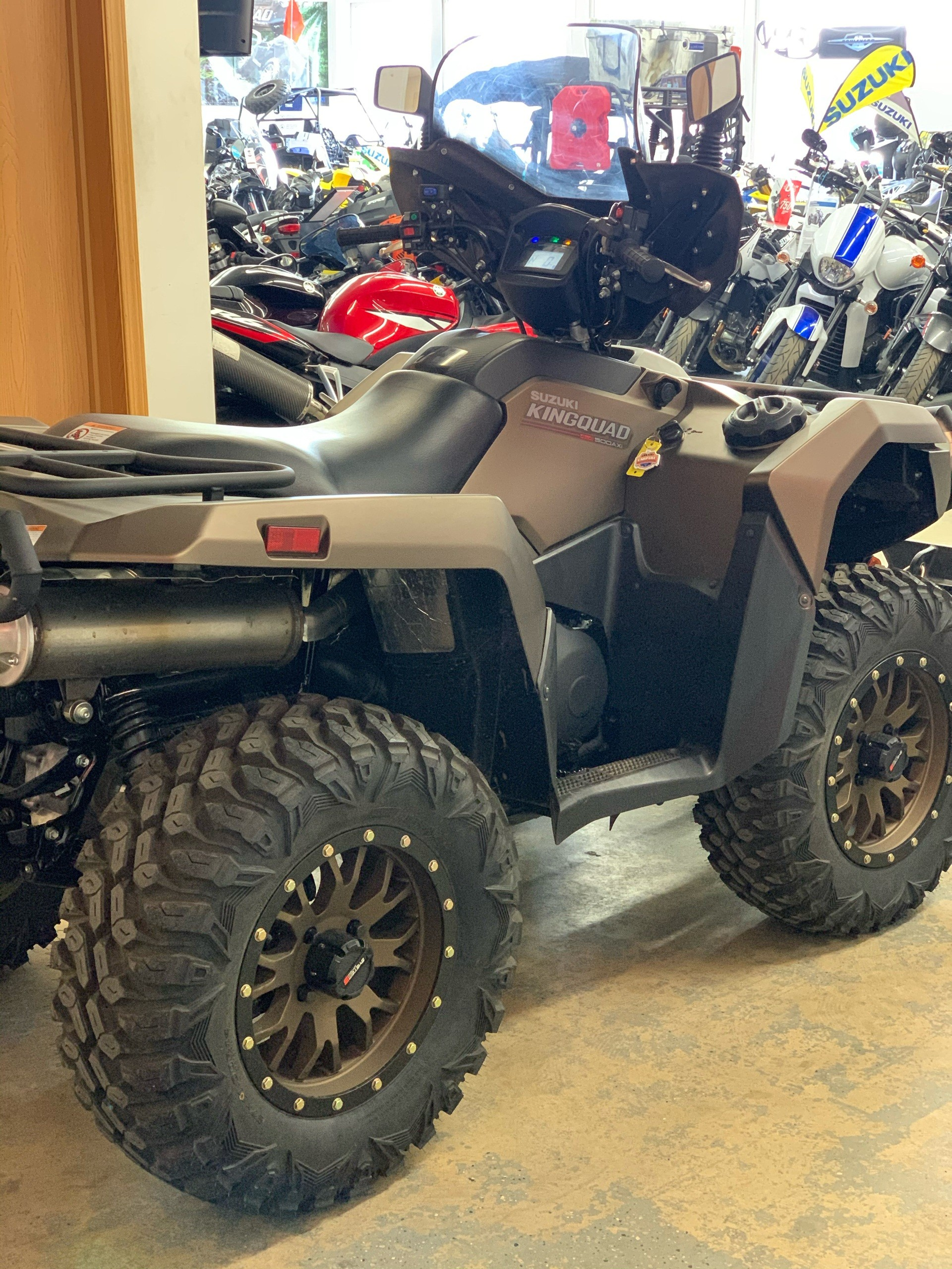 2019 Suzuki KingQuad 500AXi Power Steering SE+ in Sioux Falls, South Dakota - Photo 4