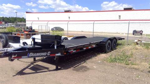 2020 DIAMOND C TRAILERS LPX210L 22X82 in Sioux Falls, South Dakota - Photo 1