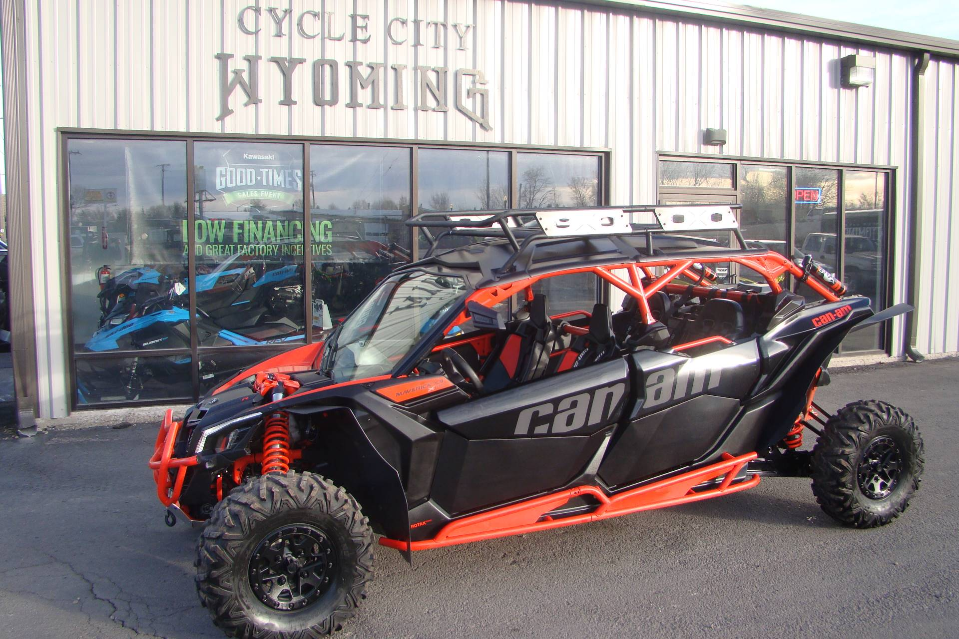 2018 Can-Am Maverick X3 Max X rs Turbo R for sale 233457