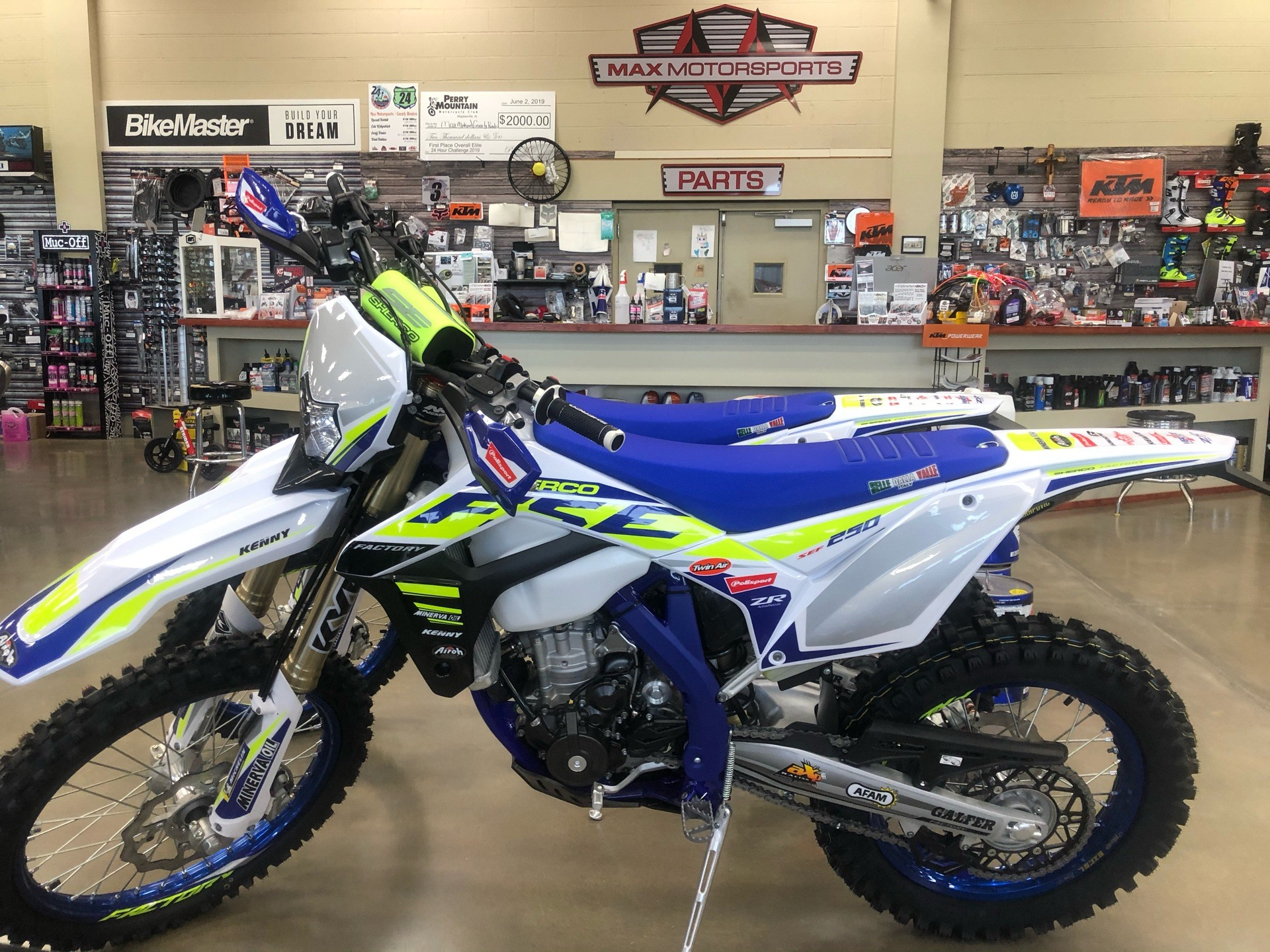 2020 Sherco 250SEF-F in Pelham, Alabama