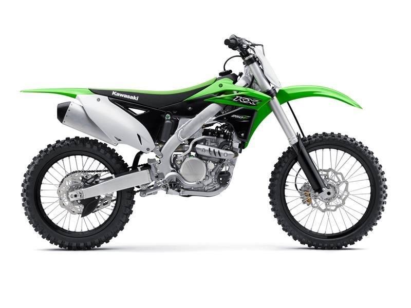 2016 Kawasaki KX250F in Fontana, California