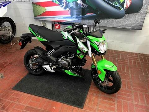 2017 Kawasaki Z125 Pro KRT Edition in Fontana, California