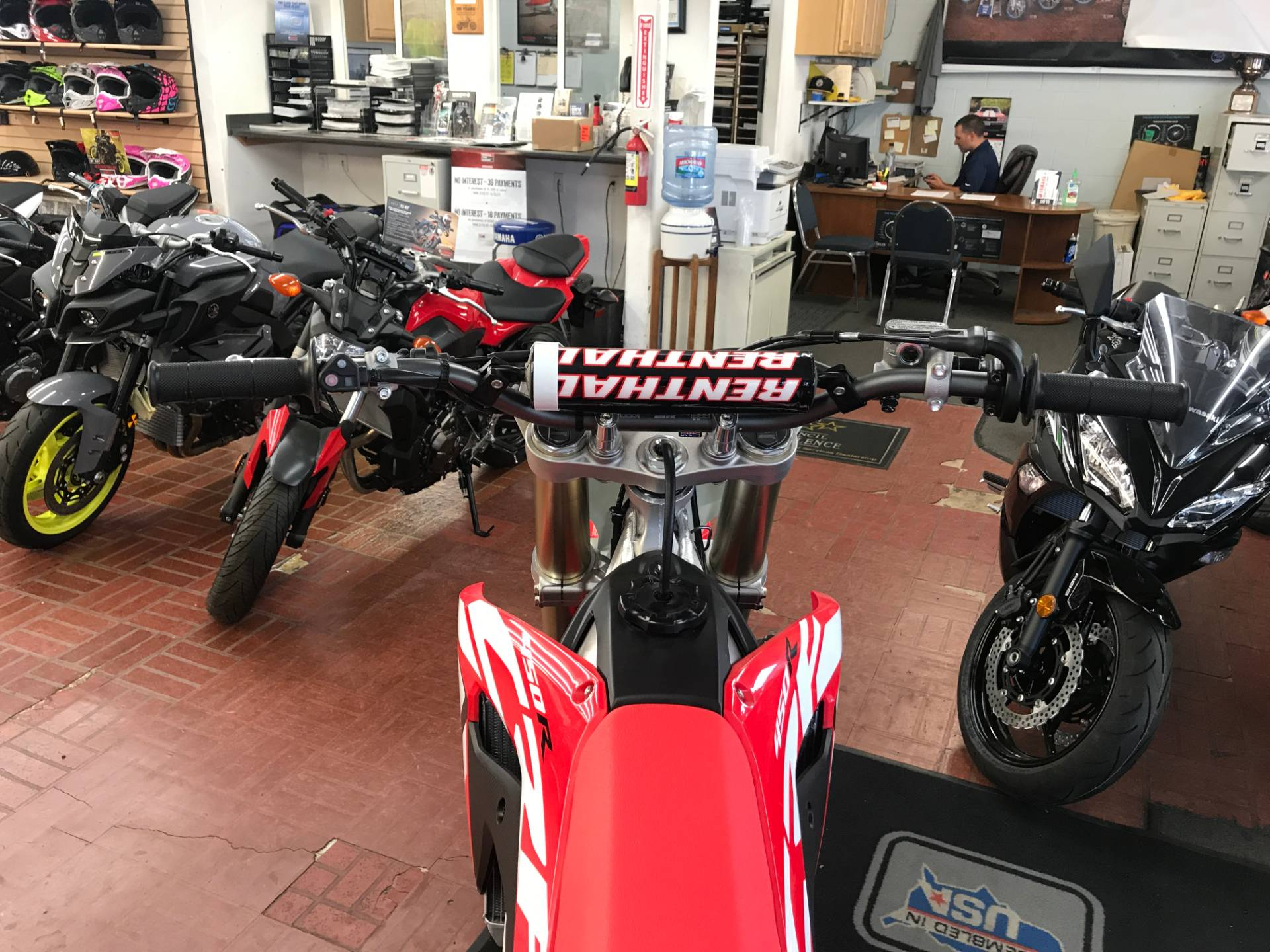 2017 Honda CRF450R in Fontana, California