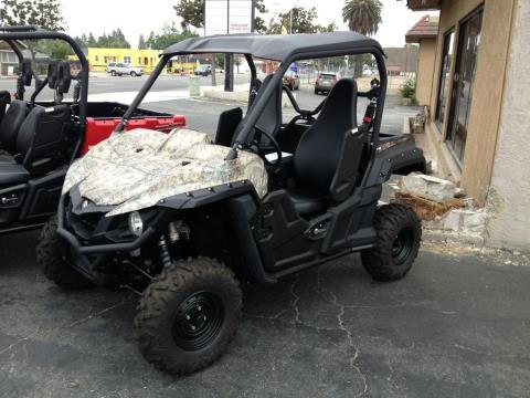 2016 Yamaha Wolverine R-Spec Camo in Fontana, California