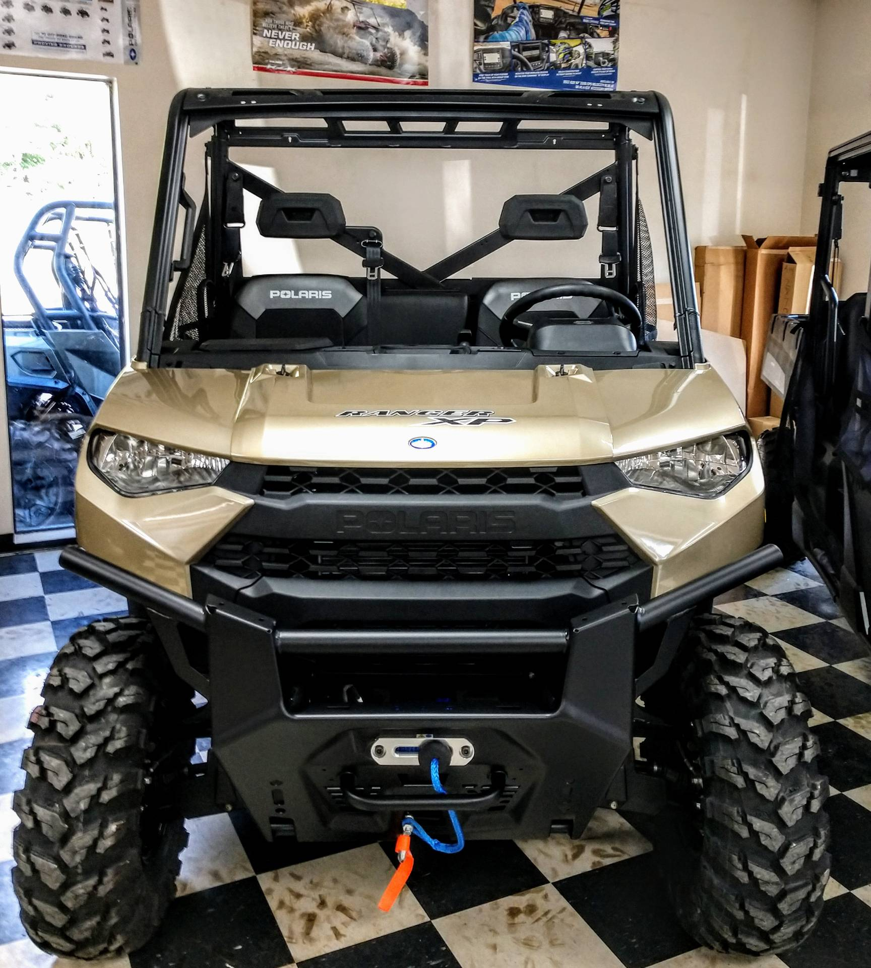 2020 Polaris Ranger XP 1000 Premium Winter Prep Package in Pound, Virginia - Photo 2