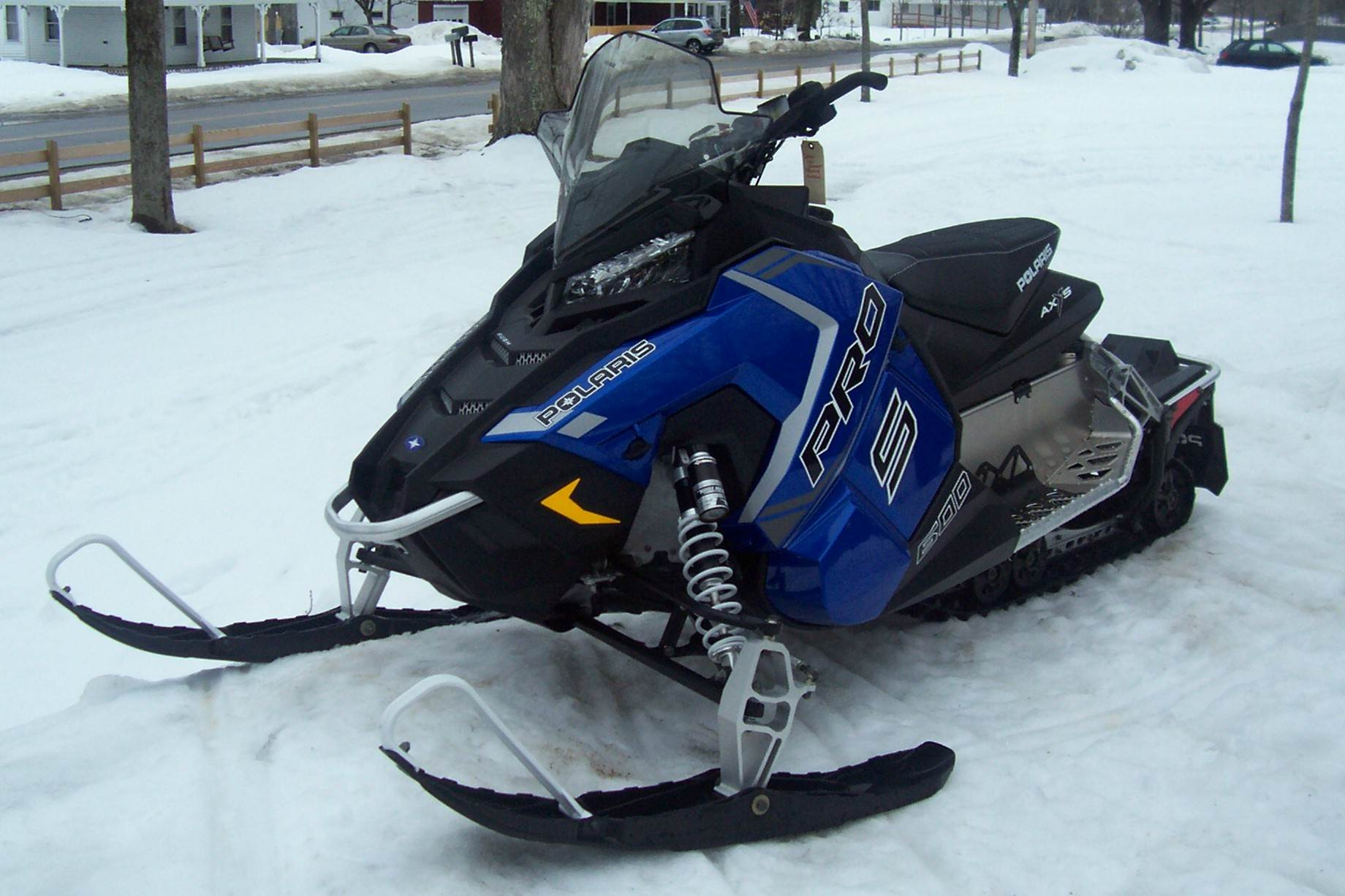 2018 Polaris 600 RUSH PRO-S ES in Center Conway, New Hampshire