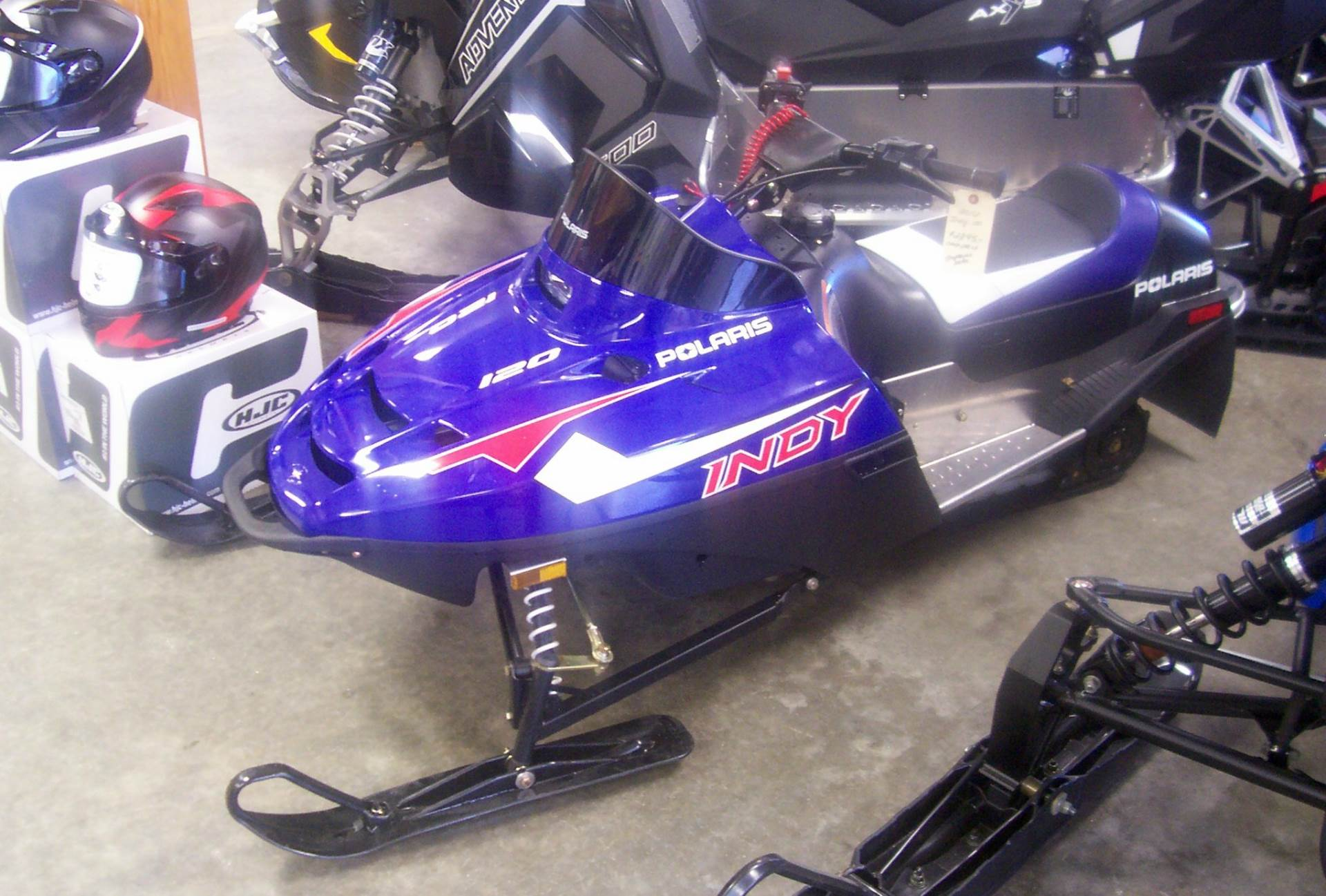 2016 Polaris 120 INDY in Center Conway, New Hampshire