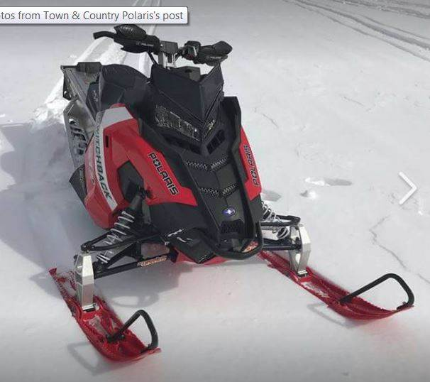 2017 Polaris 600 Switchback SP 144 ES in Center Conway, New Hampshire