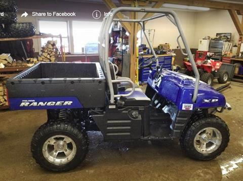 2008 Polaris Ranger XP Supersonic Blue Rally Limited Edition in Center Conway, New Hampshire