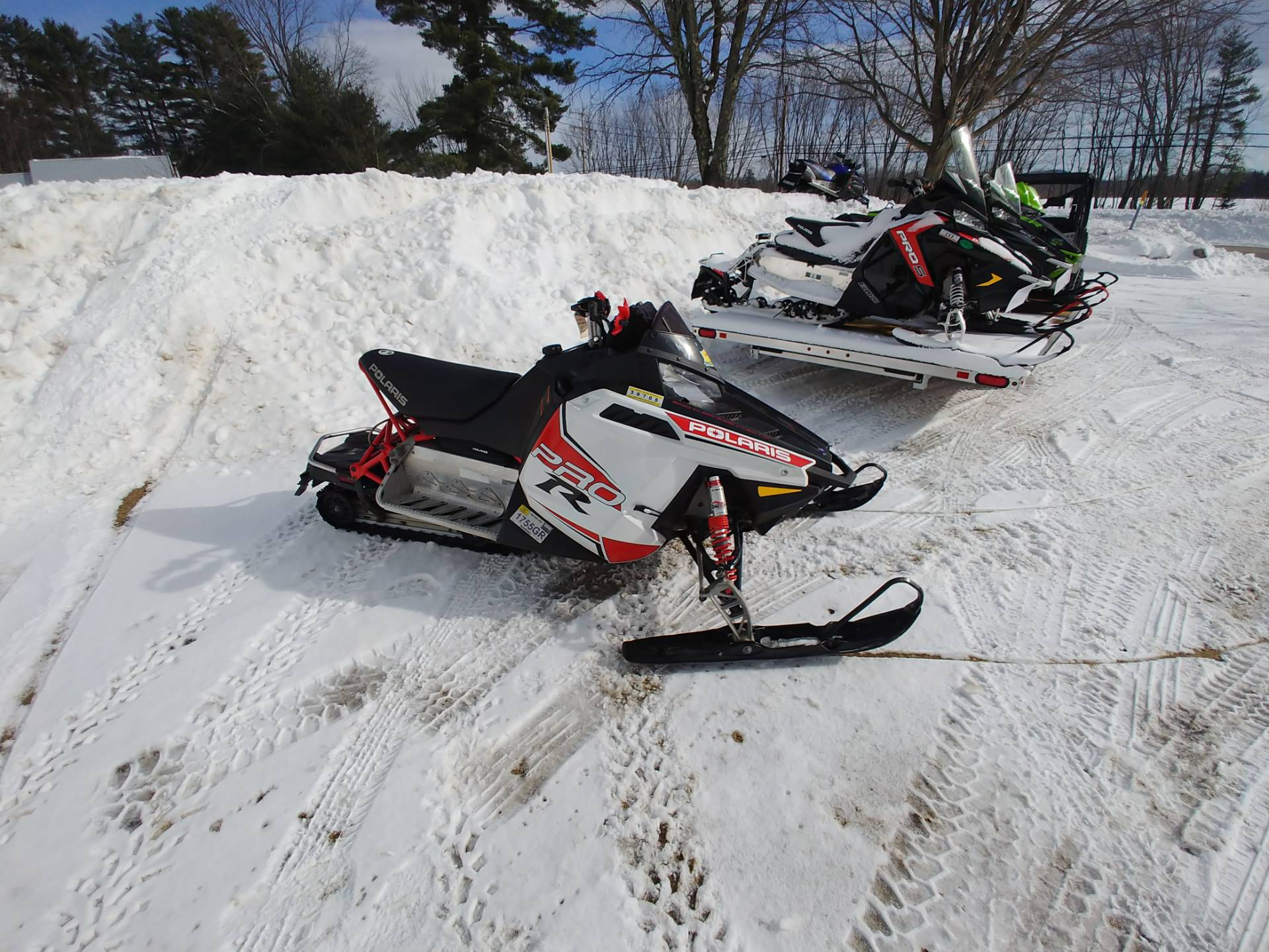 2010 Polaris 600 Rush in Center Conway, New Hampshire - Photo 1