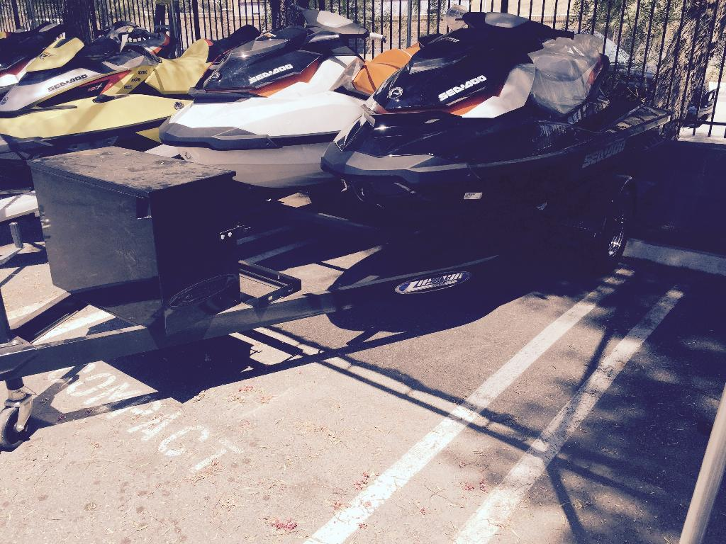 2015 Zieman J2-B W/CHROME PACKAGE TRAILER in Castaic, California