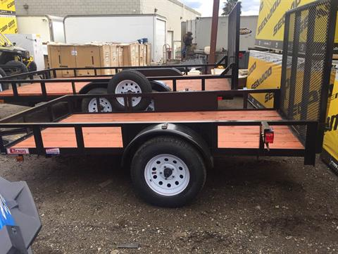 2019 Carson Trailer 5x10 Wood Deck in Castaic, California - Photo 1