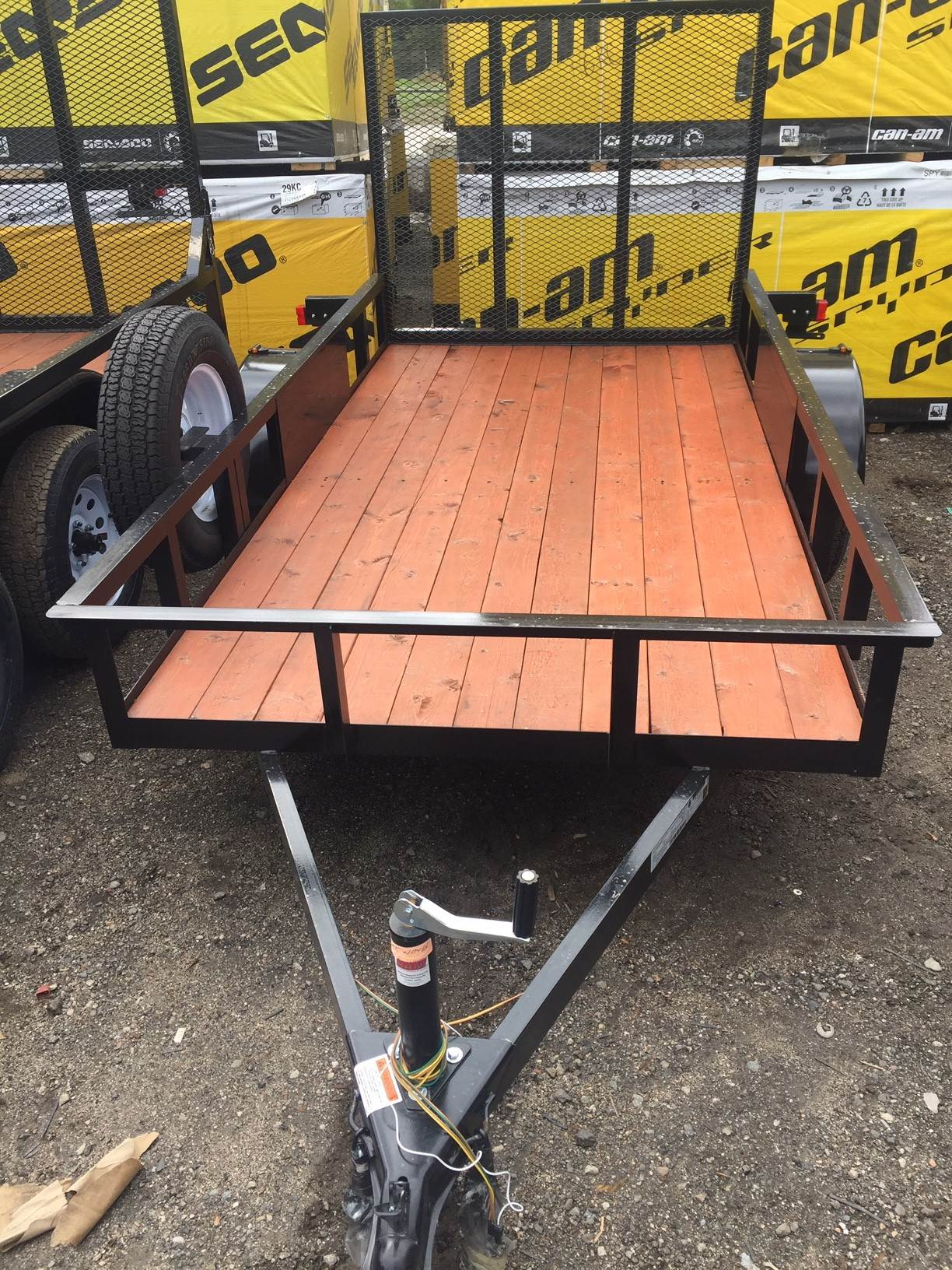 2019 Carson Trailer 5x10 Wood Deck in Castaic, California - Photo 2