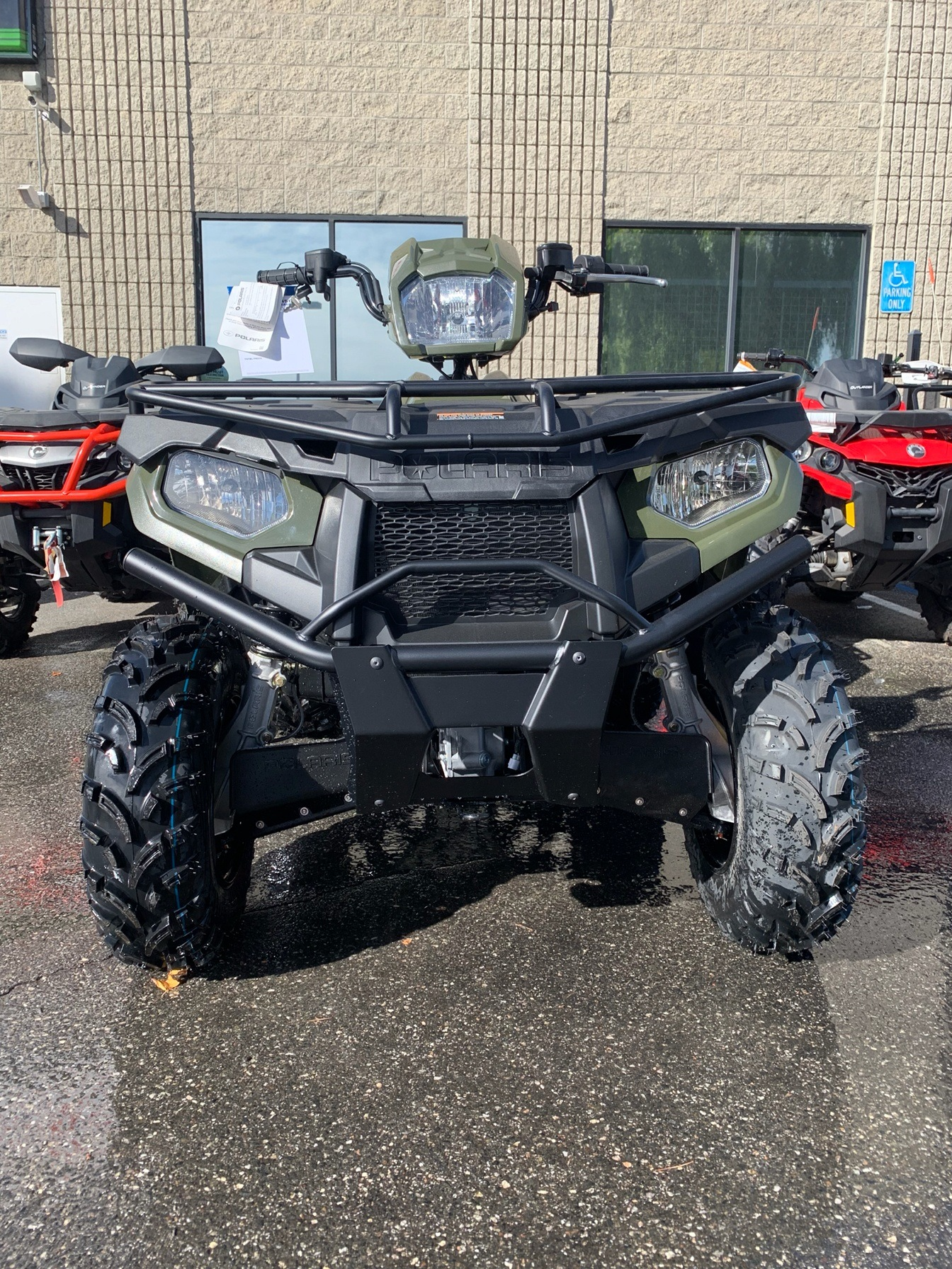 2020 Polaris Sportsman 450 H.O. Utility Package in Castaic, California - Photo 1