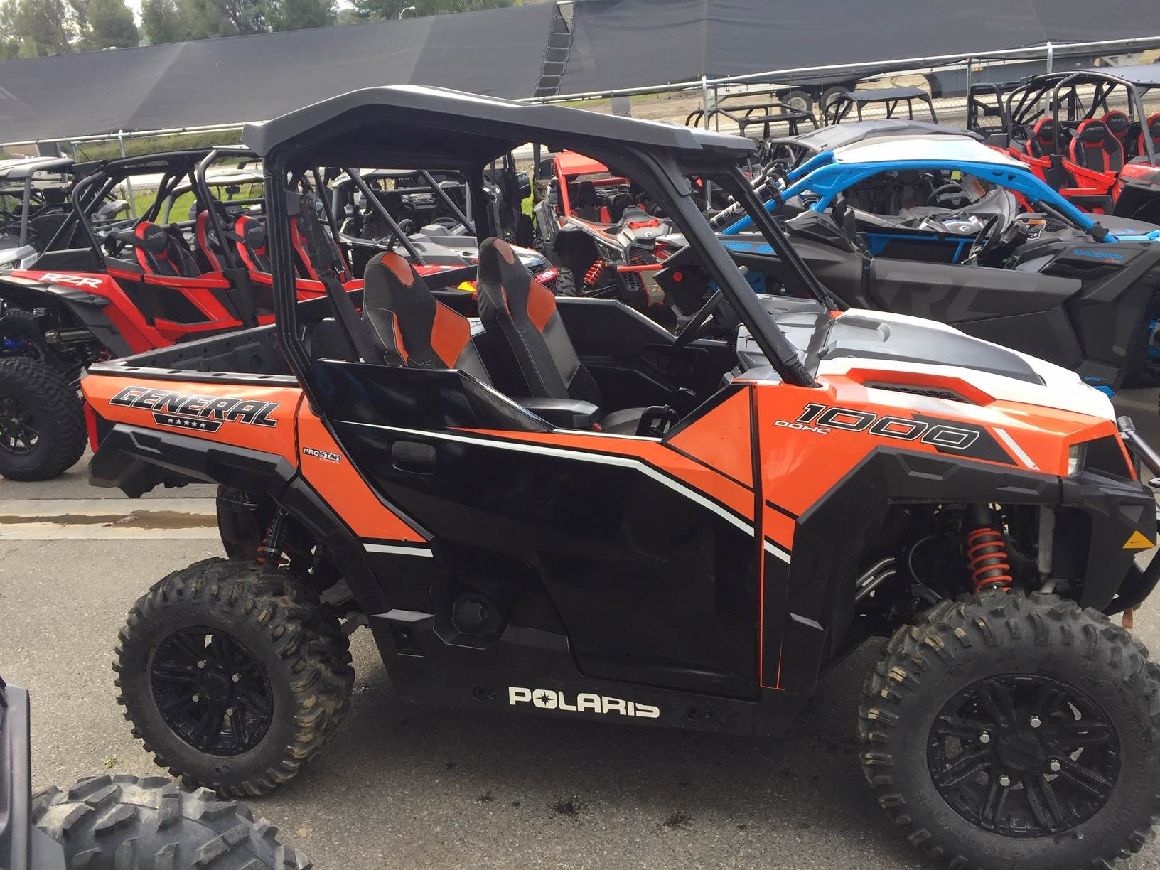 2016 Polaris General 1000 Eps Deluxe In Castaic California