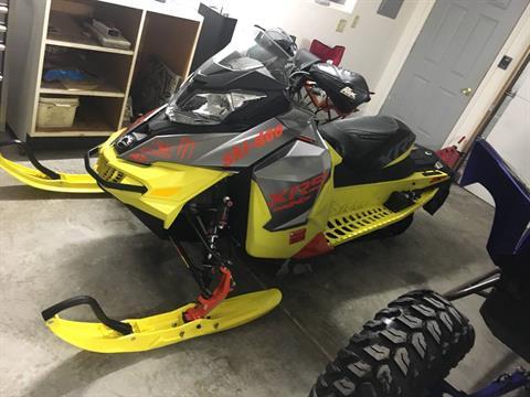 2015 Ski-Doo MX Z® X-RS® 800R E-TEC® E.S. w/ Adj. Susp., Ripsaw in Appleton, Wisconsin