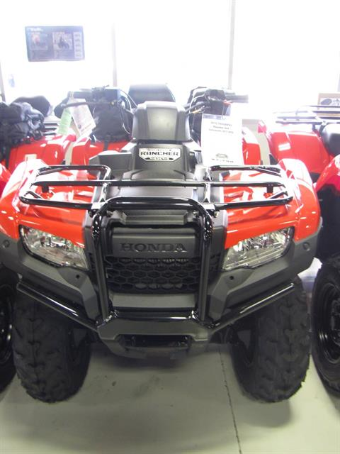 2018 Honda FourTrax Rancher 4x4 DCT EPS in Ottawa, Ohio