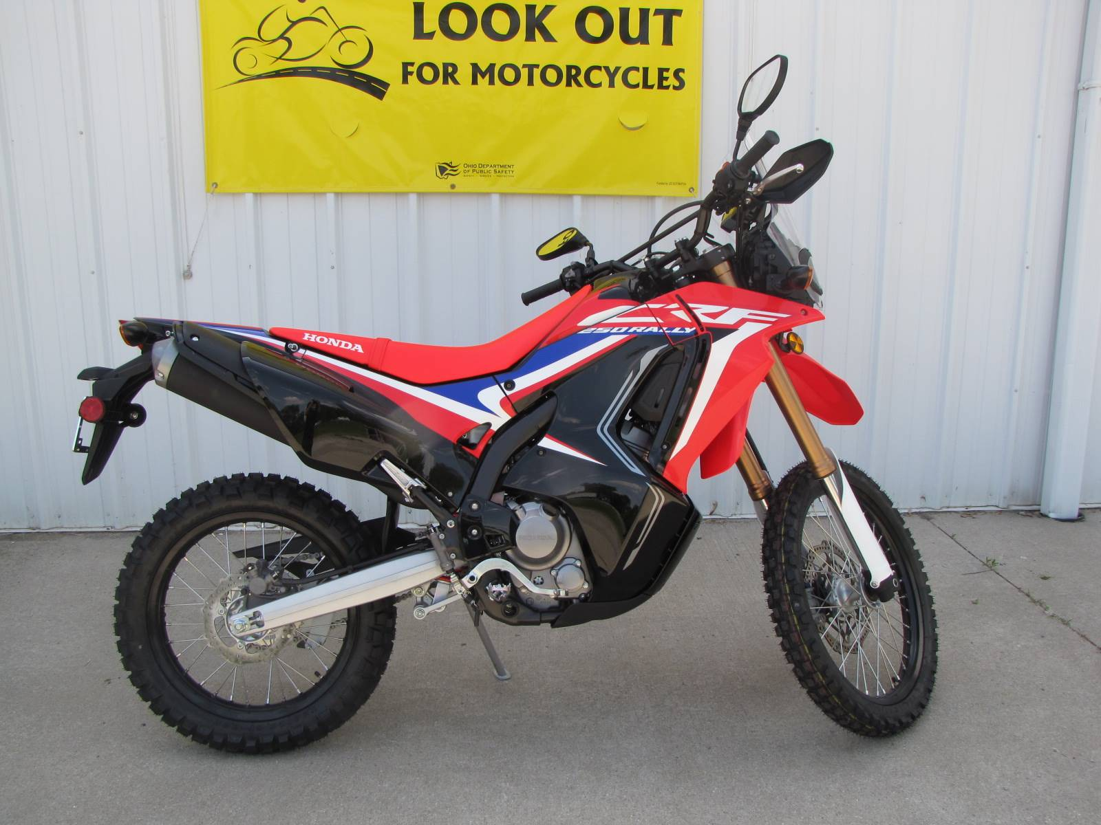 2019 Honda CRF250L Rally in Ottawa, Ohio - Photo 2
