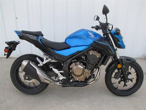 2018 Honda CB500F in Ottawa, Ohio - Photo 2