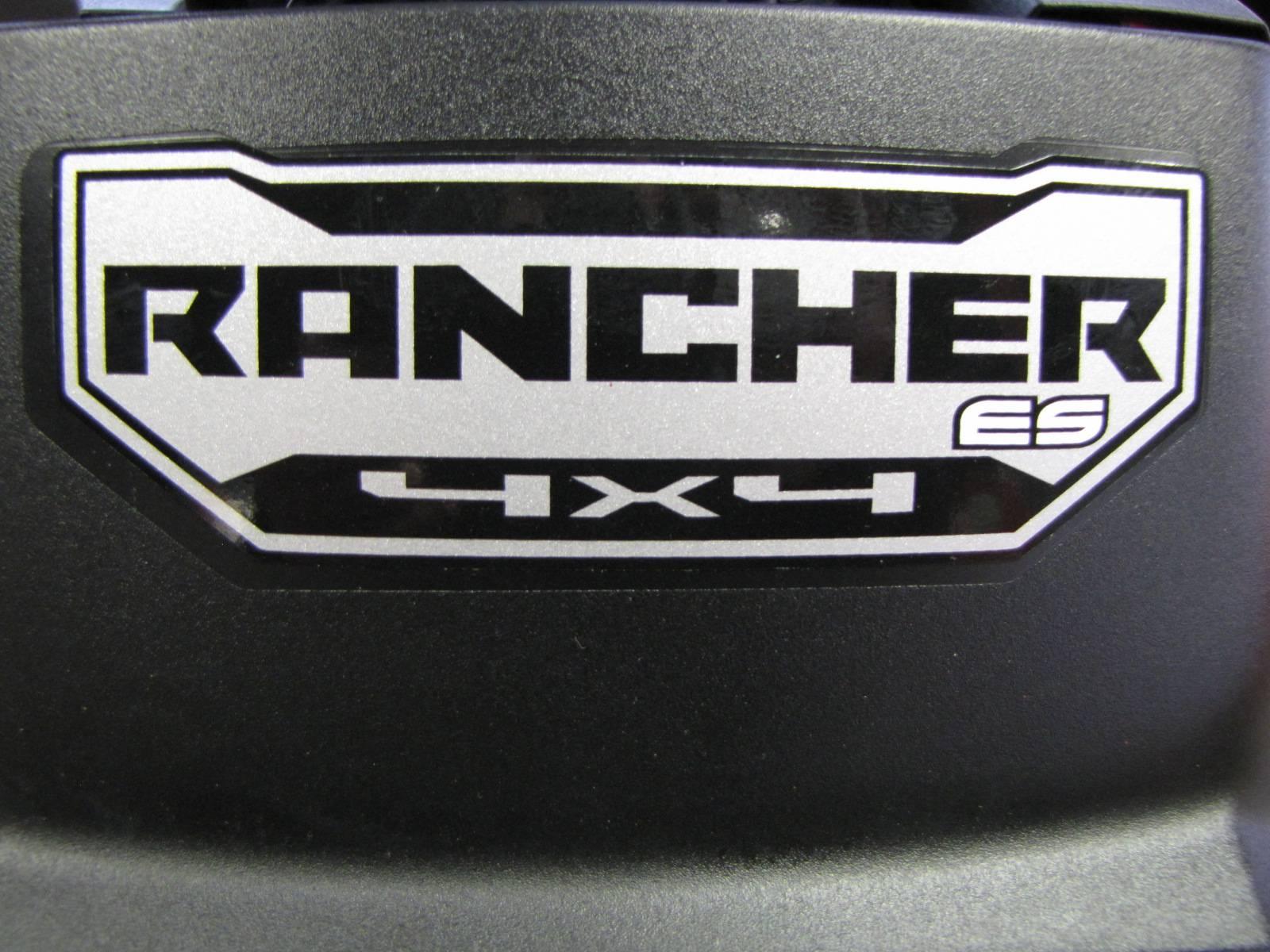 2017 FourTrax Rancher 4x4 ES