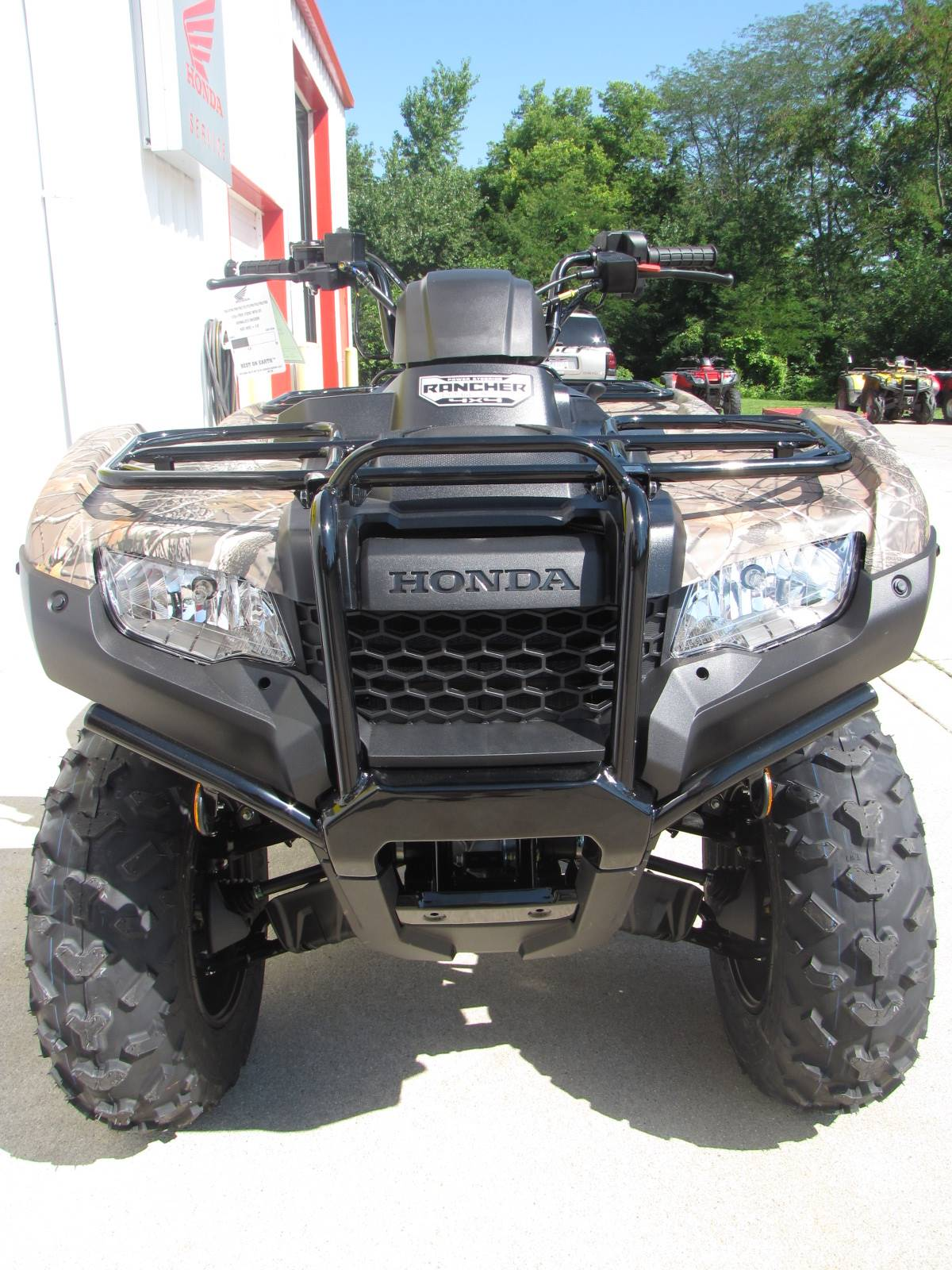 2019 Honda FourTrax Rancher 4x4 DCT IRS EPS 2