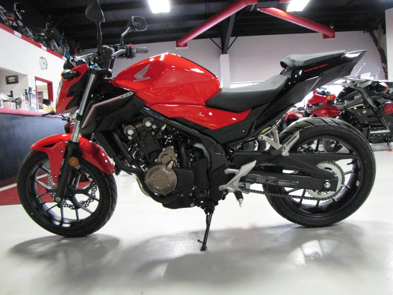 2017 CB500F