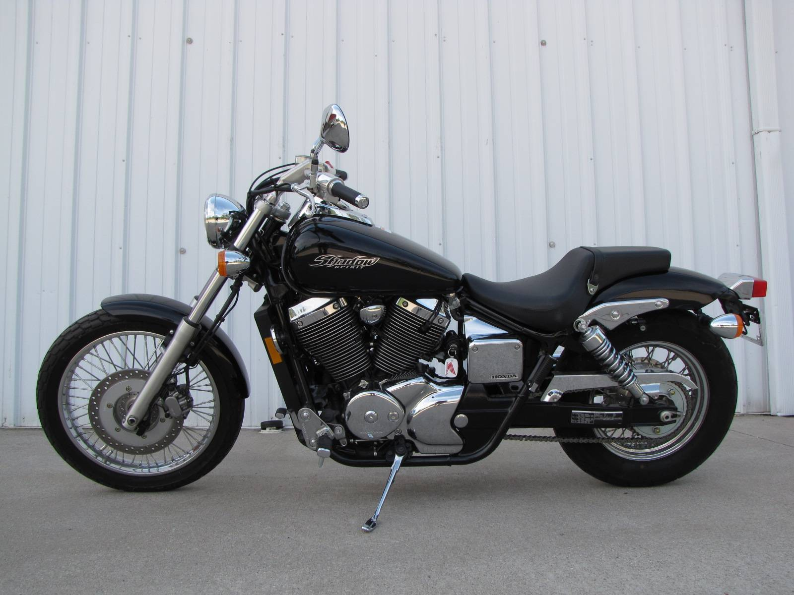 used 2007 honda shadow spirit 750 c2 motorcycles in ottawa oh stock number n a. Black Bedroom Furniture Sets. Home Design Ideas