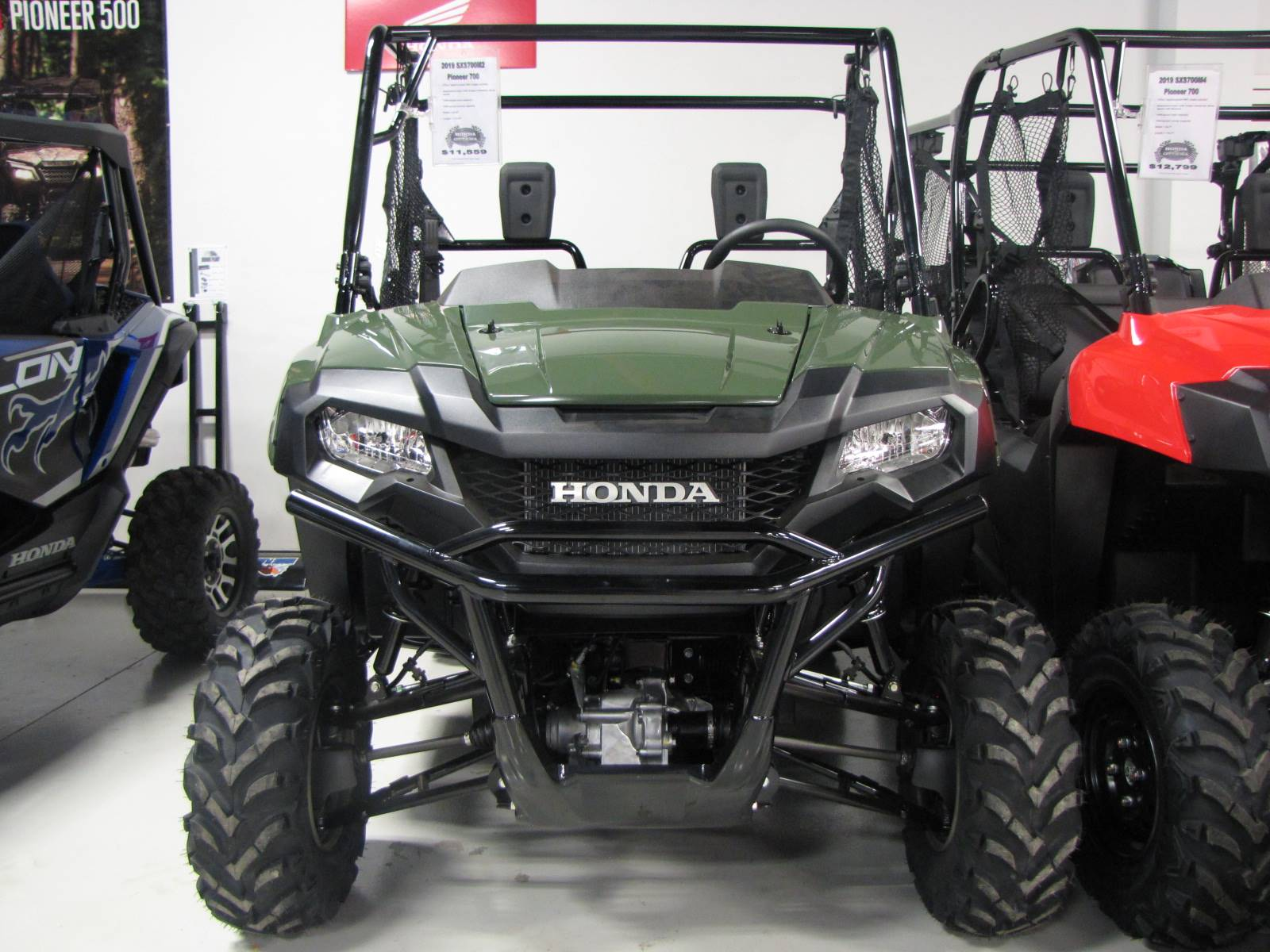 2019 Honda Pioneer 700 in Ottawa, Ohio - Photo 2