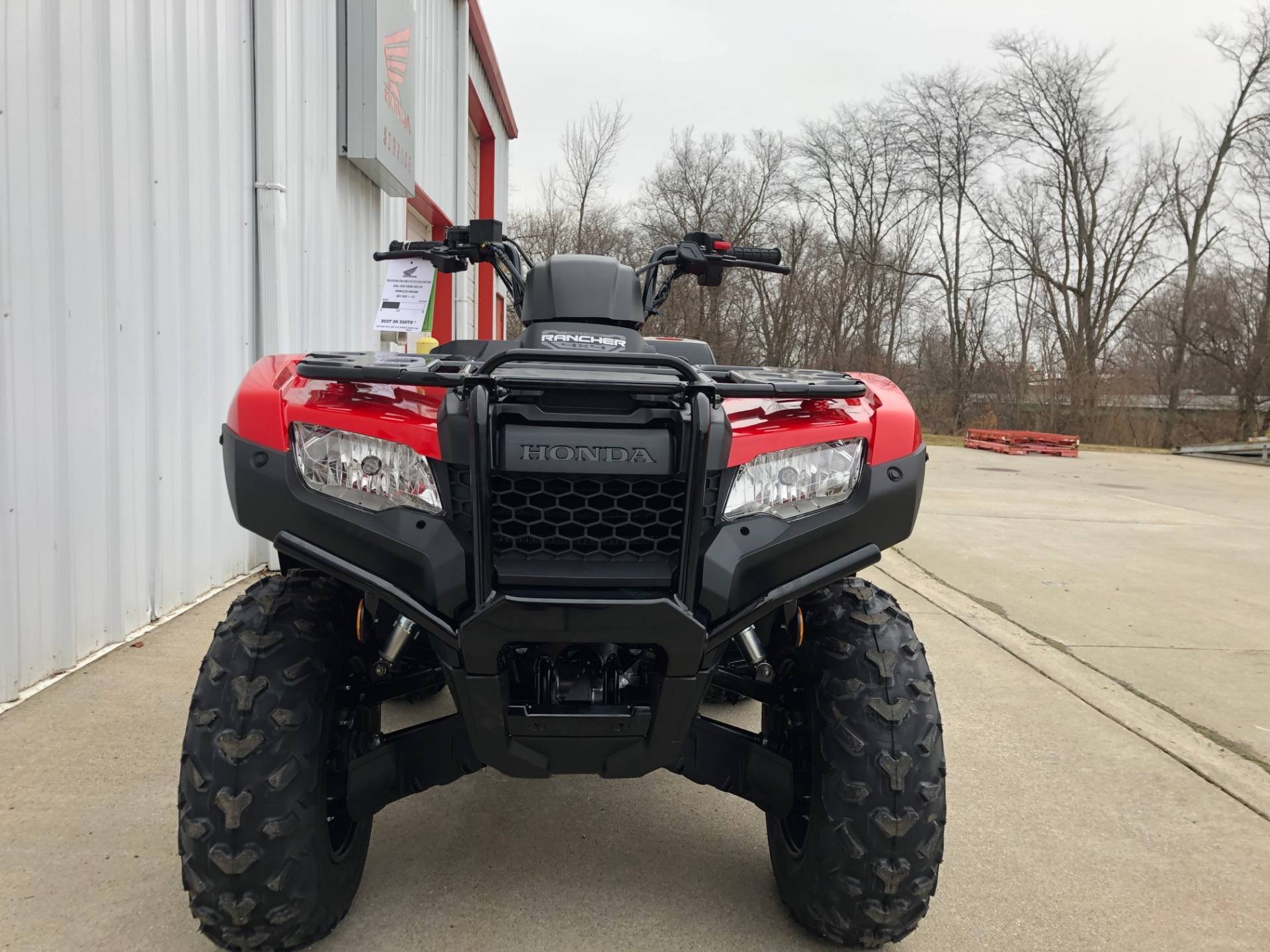 2020 Honda FourTrax Rancher 4x4 Automatic DCT IRS EPS in Ottawa, Ohio - Photo 3