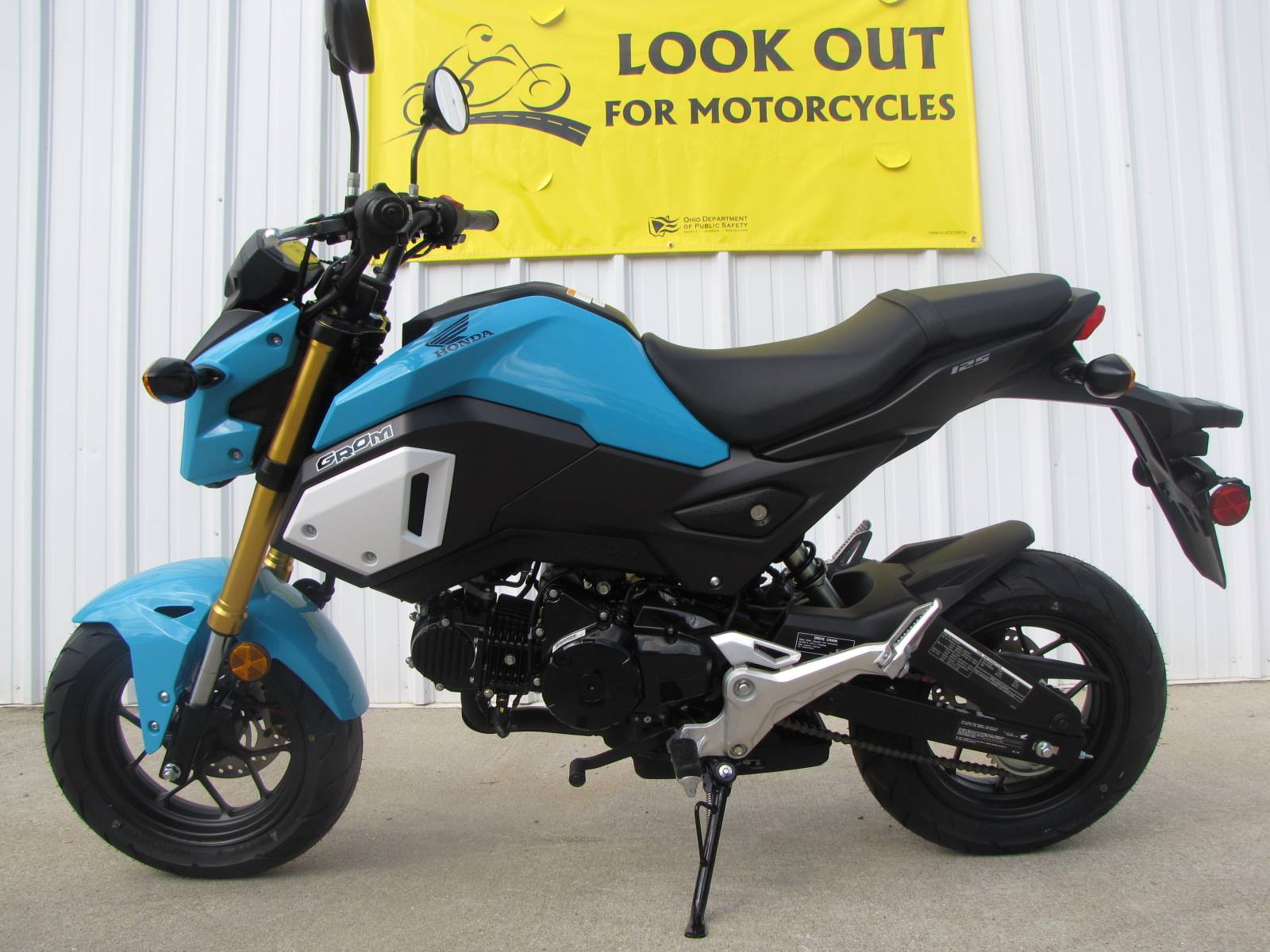2019 Honda Grom in Ottawa, Ohio - Photo 1