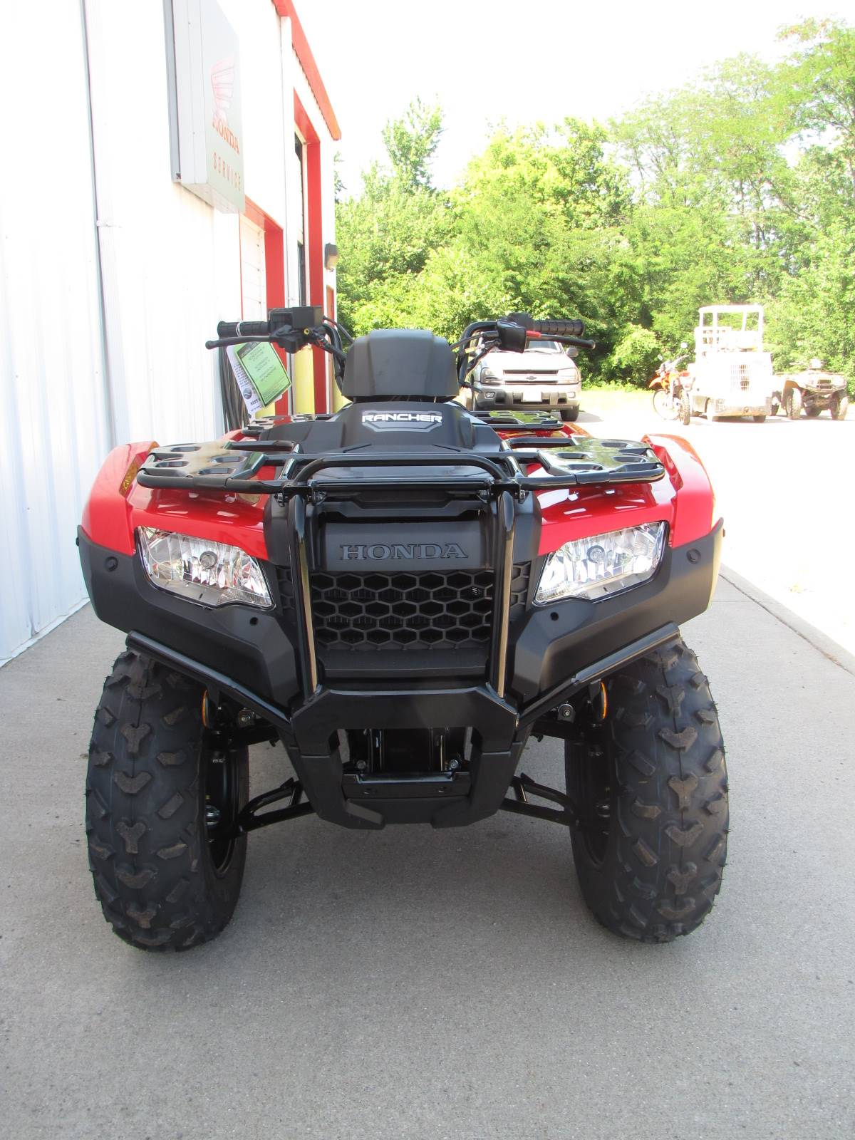2020 Honda FourTrax Rancher in Ottawa, Ohio - Photo 4
