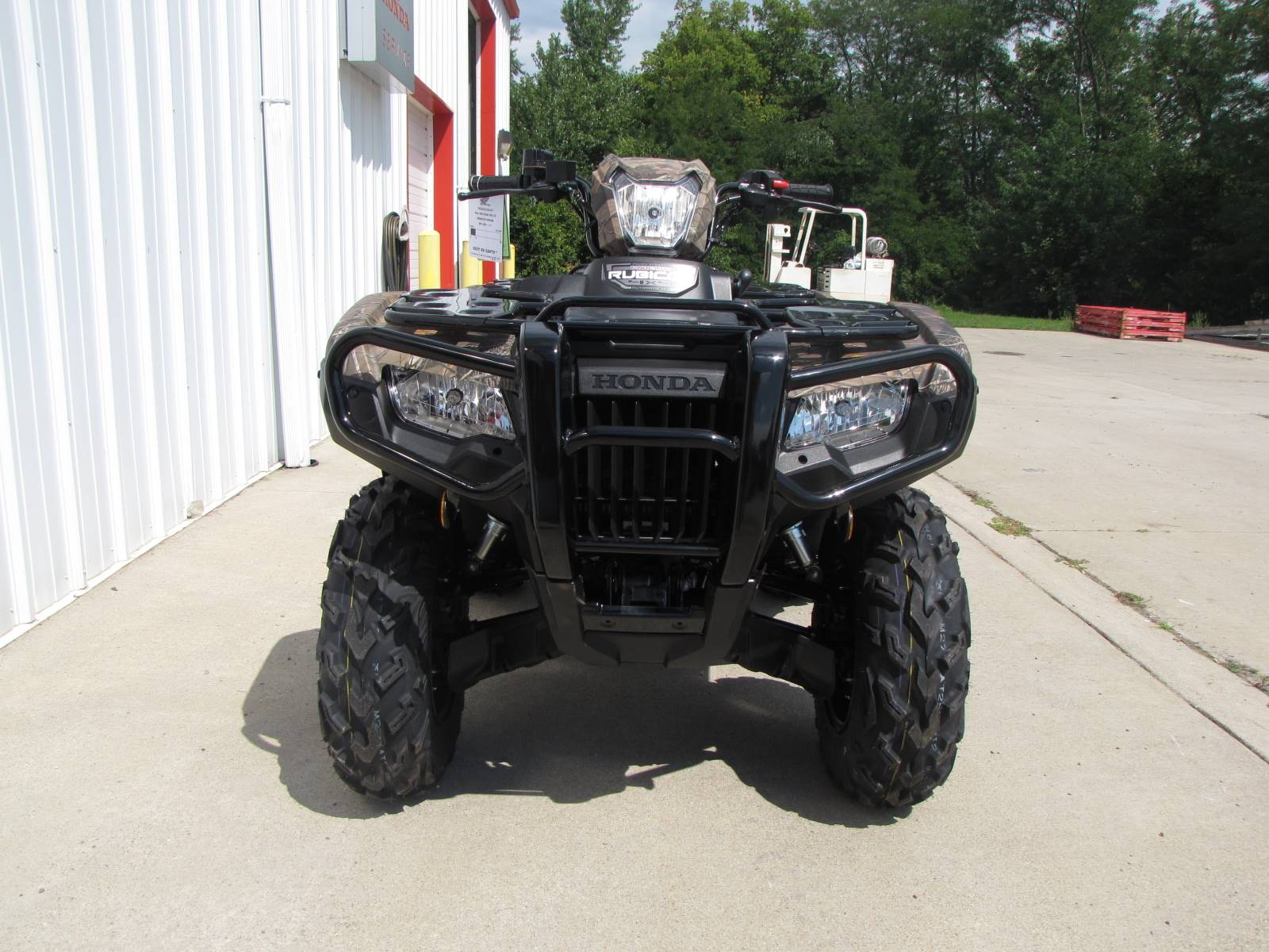2020 Honda FourTrax Foreman Rubicon 4x4 Automatic DCT EPS Deluxe in Ottawa, Ohio - Photo 3