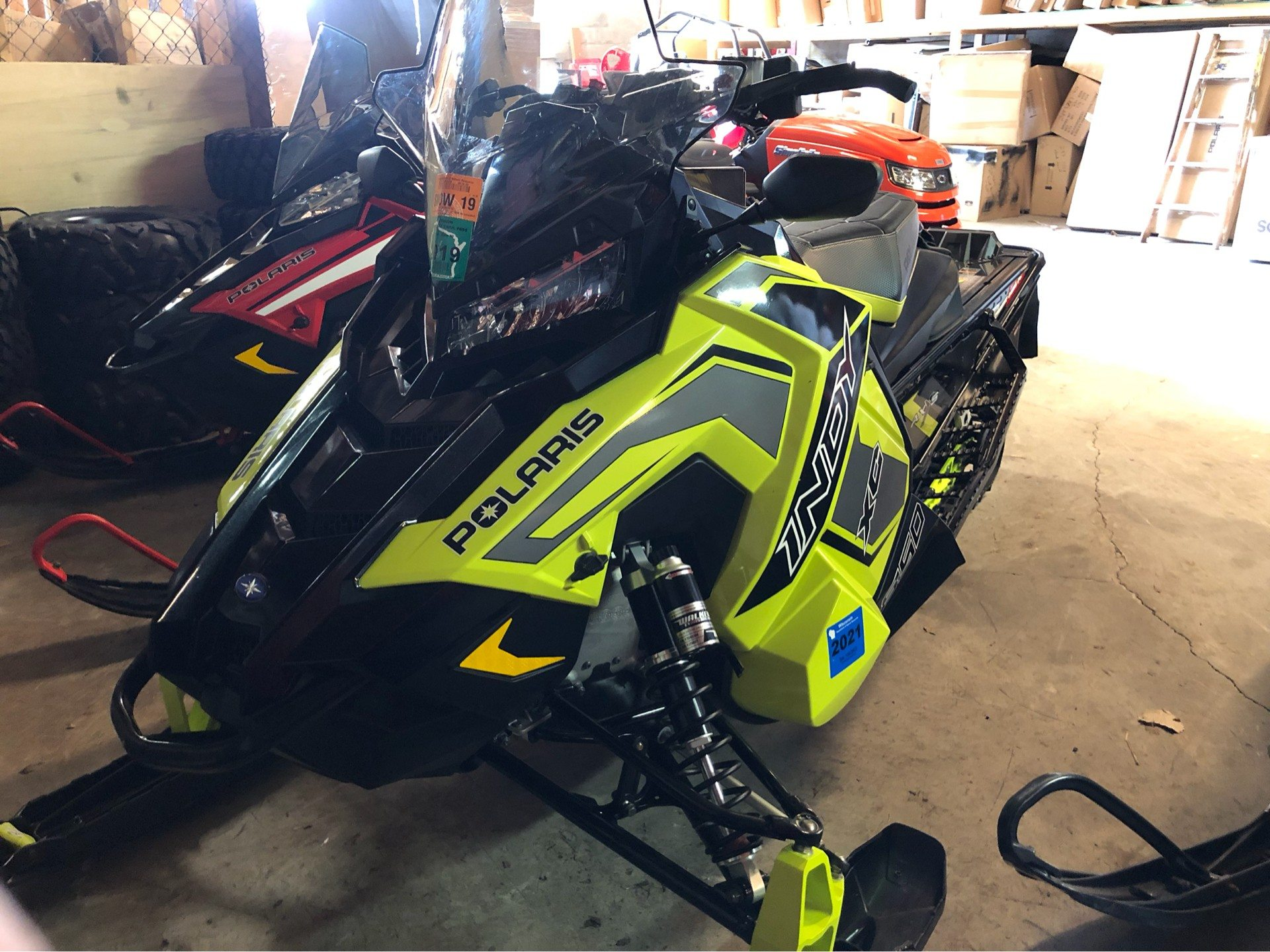 2019 Polaris 850 INDY XC 129 Snowcheck Select in Fond Du Lac, Wisconsin - Photo 1
