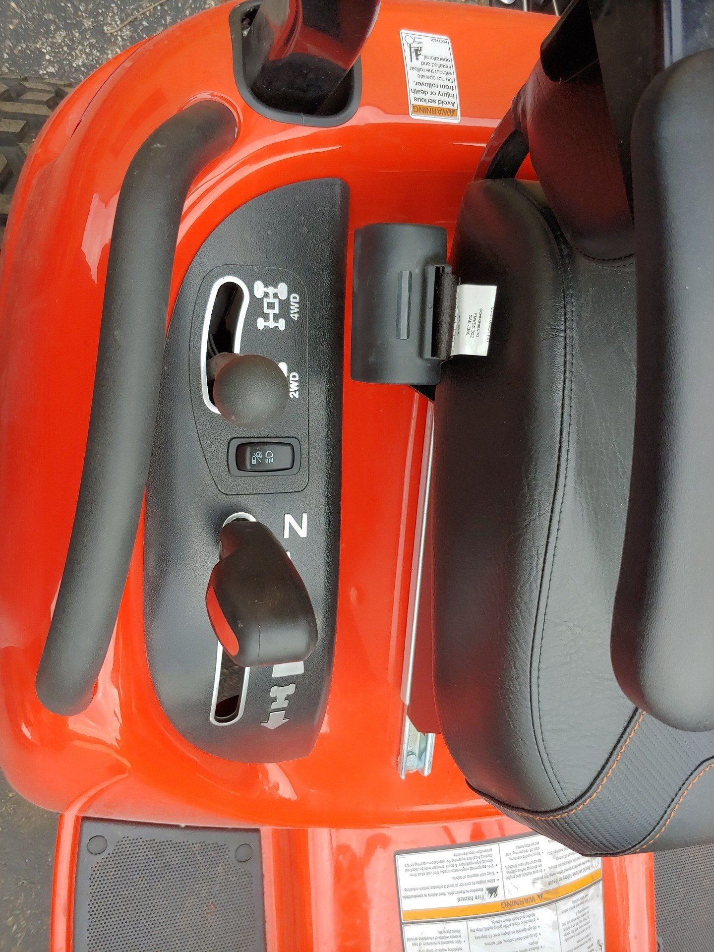 2018  Legacy XL 33 4WD 540 Rear PTO 5