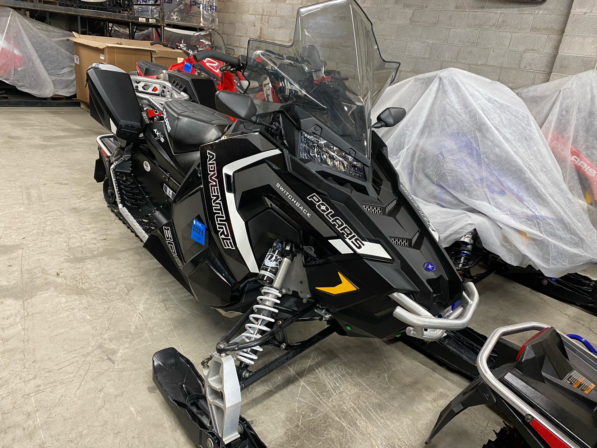 2018 Polaris 800 Switchback Adventure 137 ES in Fond Du Lac, Wisconsin - Photo 3
