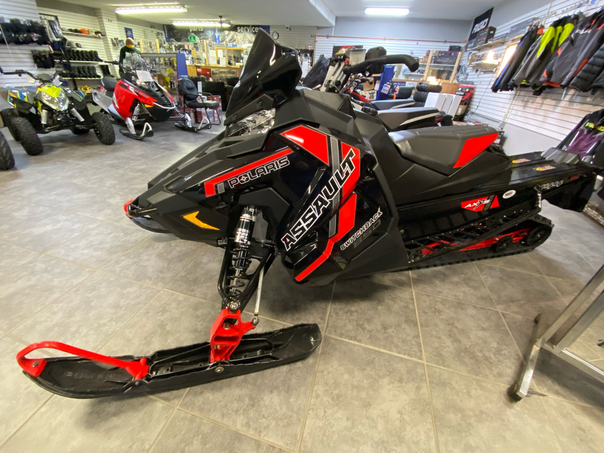 2021 Polaris 850 Switchback Assault 144 Factory Choice in Fond Du Lac, Wisconsin - Photo 4